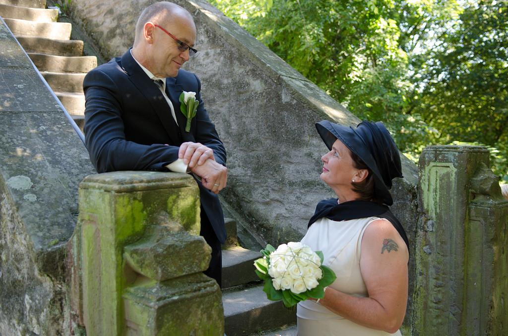 Paarshooting von Gabi und Werner