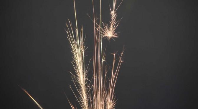 Hand-Feuerwerk