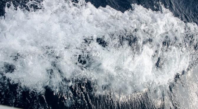 Letzter Tag auf See beim Kroatien Segeltörn 2014