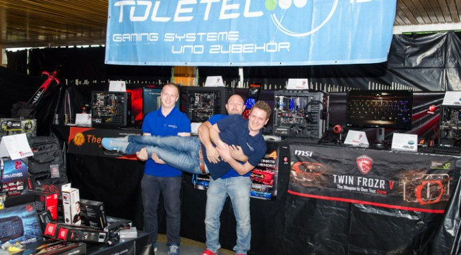 Toletec Shooting auf der Convention X-Treme