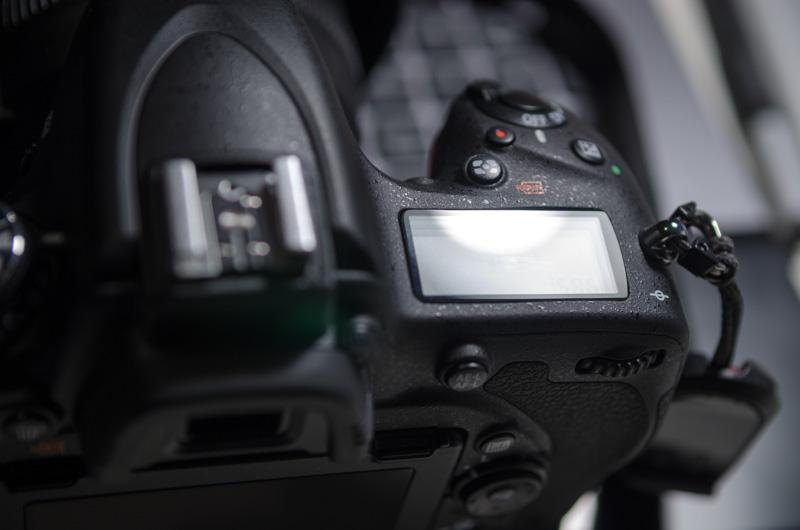 Nikon D750 mit Schutzglas
