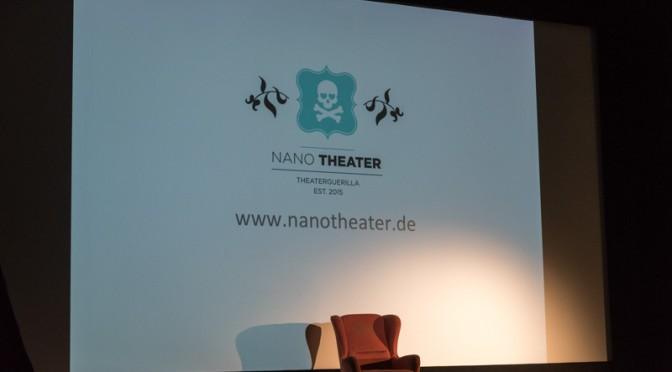 Klein, kleiner, NANOtheater die Theaterguerilla