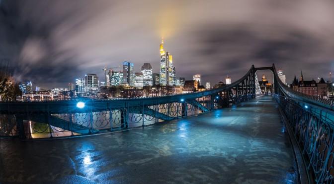Frankfurt Photowalk Langzeitbelichtungen bei Regen