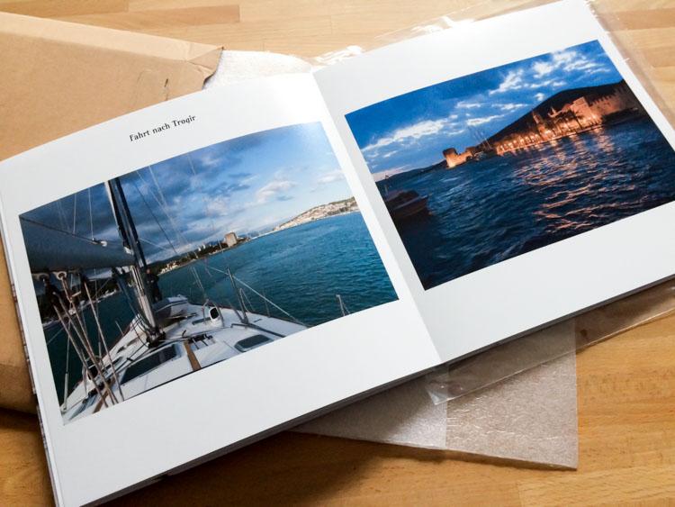 Segeltörn Fotobuch von Saal-Digital