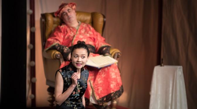 Chinesische Nachtigall, Theater-Fotografie im Kindertheater Speyer