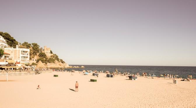 Strand von Lloret de Mar