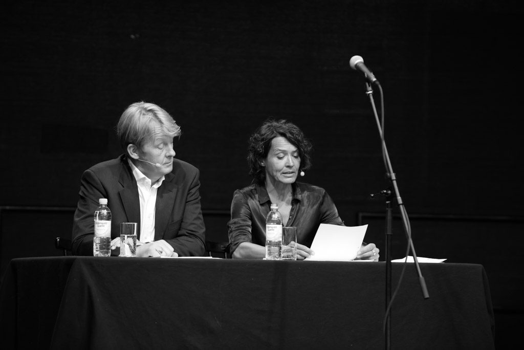 """Lesung """"Die Blechtrommel"""" mit Ulrike Folkerts und Clemens von Ramin"""