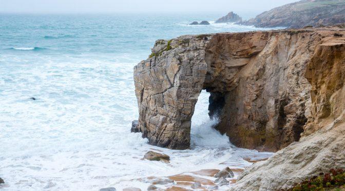 Quiberon an der Wilden Küste der Bretagne