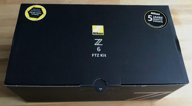 Nikon Z6 die neue an Board