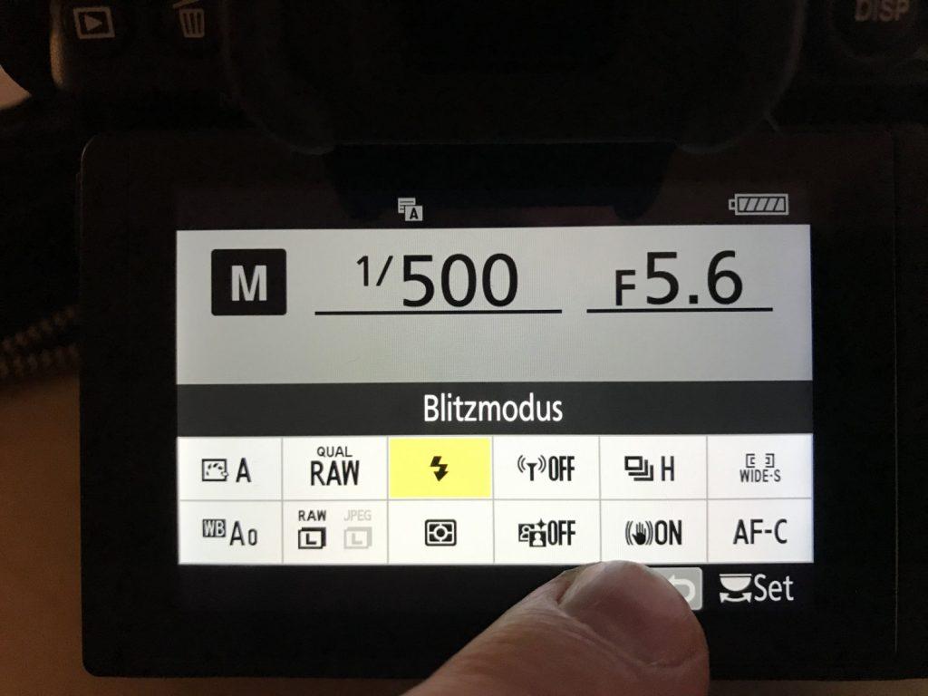 Nikon Z6 Touch-Funktionalität trotz Displayschutzglas