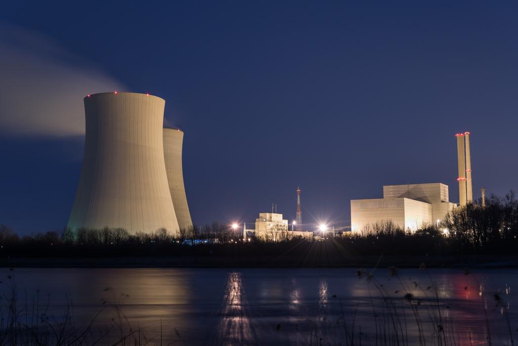 Atomkraftwerk Philippsburg mein Topseller Stockfoto bei Adobe Stock